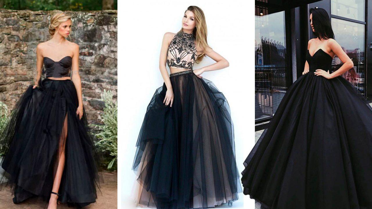c3f972454 15 Vestidos de color negro que vas a querer usar en tus XV