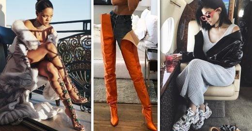 15 Pares de zapatos extraños que las famosas poseen
