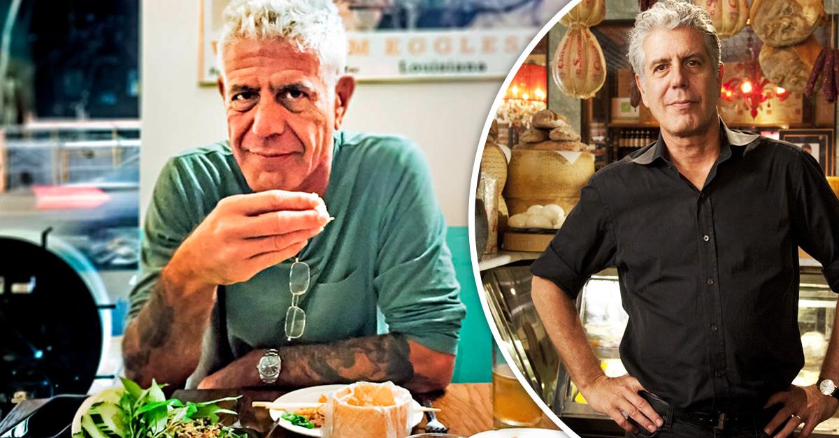 Anthony Bourdain el chef y presentador más amado de la TV fue encontrado muerto