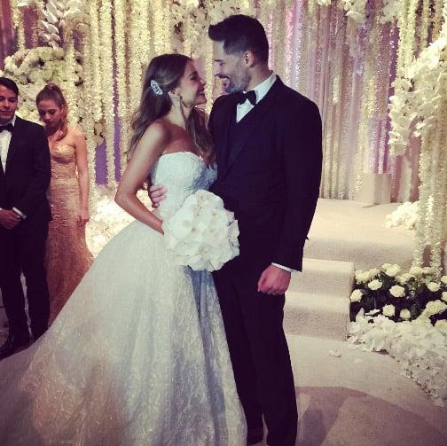 Sofia vergara el día de su boda
