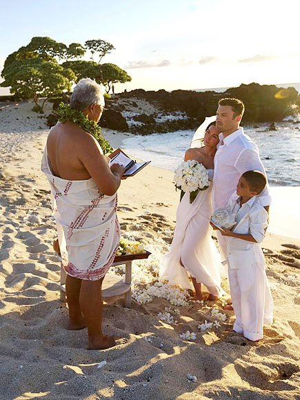 Boda de megan fox en la playa