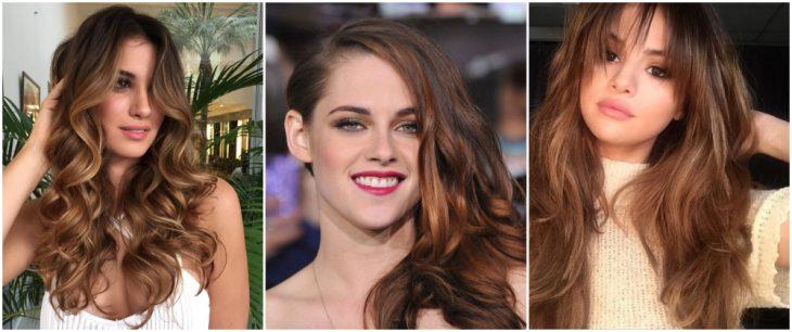 chicas con cabello largo