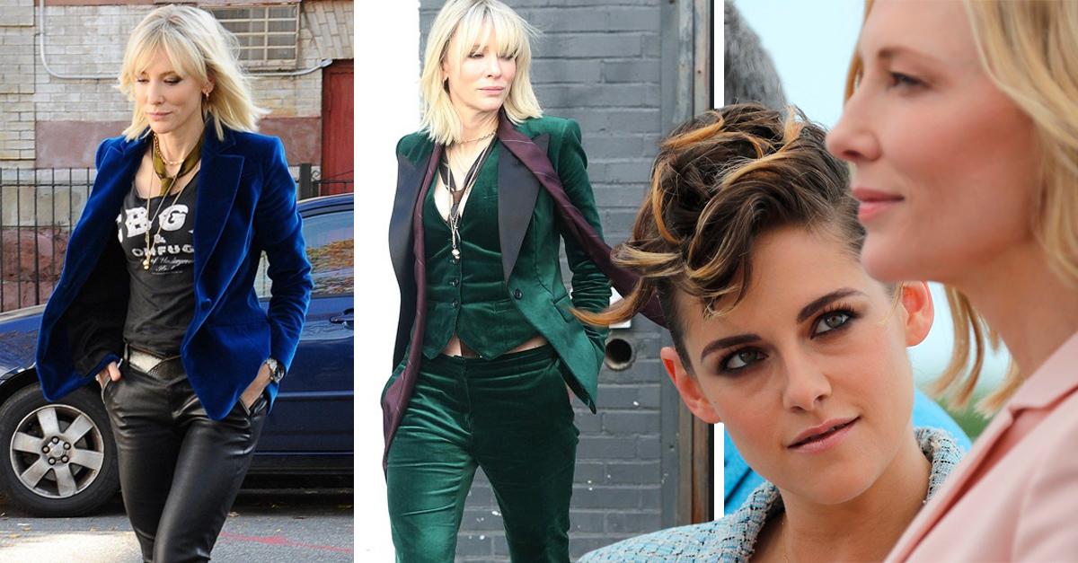 Los outfits de Cate Blanchett en Ocean's 8 que nos hicieron sentir como Kristen Stewart