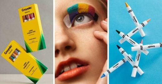 Crayola ha lanzado su nueva línea de maquillaje, y nuestra niña interior lo está amando