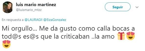 tuit de Eiza González