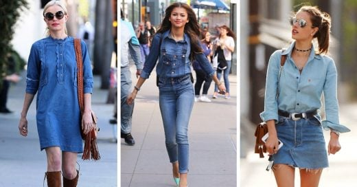 Jeans total look, el estilo que volvió más fuerte que nunca