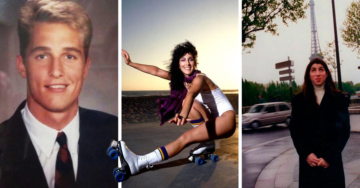 Esta cuenta de Instagram recopila las fotos nunca antes vistas de las celebridades