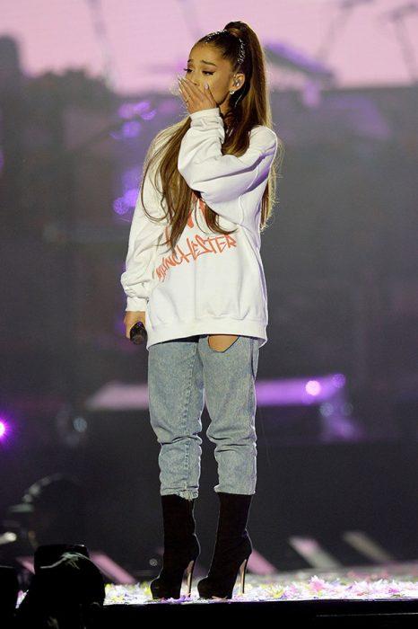 Ariana Grande Manchester concierto 2017