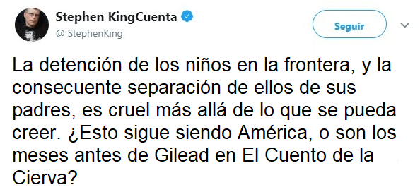 tuit de Stephen King