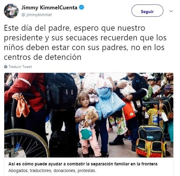 Tuit contra ley anti migratoria