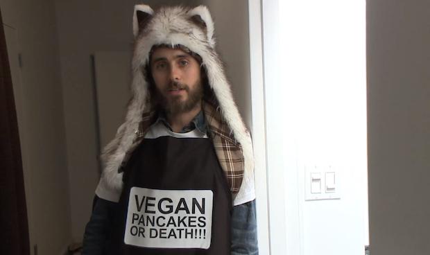 Jared Leto a favor de una dieta vegana