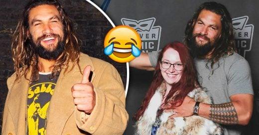 Jason Momoa troleo al esposo celoso de una de sus fans de la mejor manera