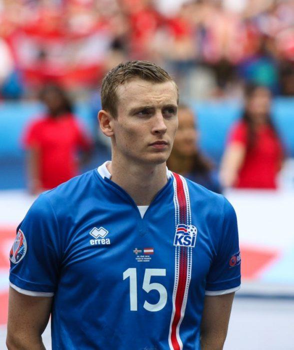 Jón Daði Böðvarsson jugador de Islandia