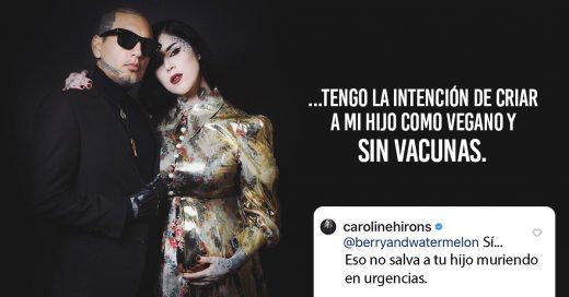 Kat Von D Said She'll Raise Her Unborn Child Vegan And Without Vaccinations, So This Mom Shut Her Down