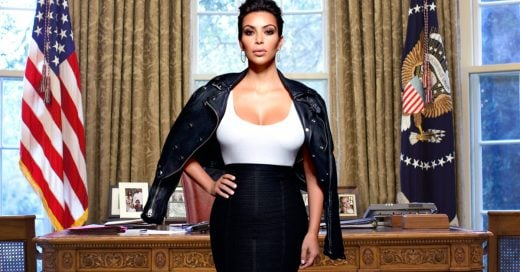 Kim Kardashian podría convertirse en la próxima presidenta de Estados Unidos