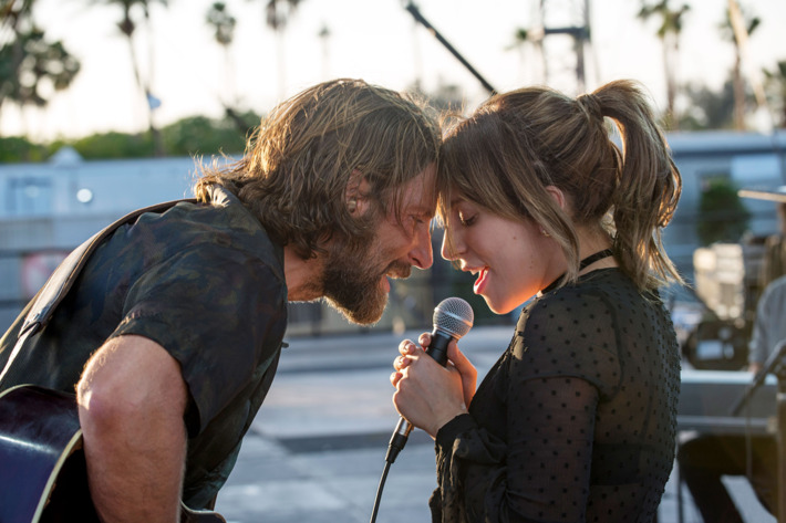 escena de la película A Star Is Born