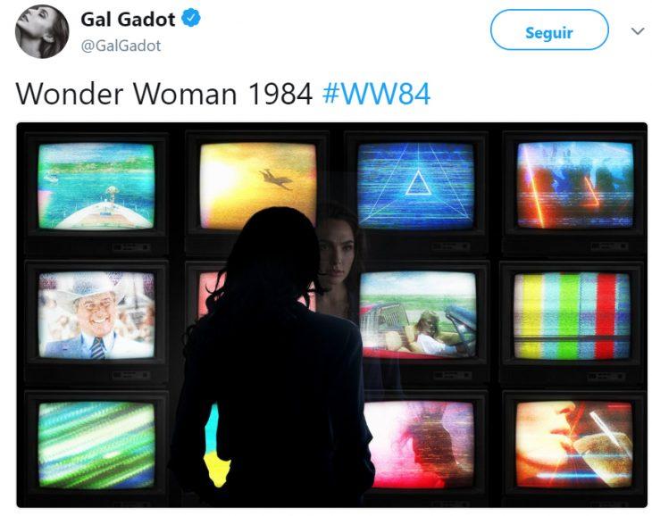 Imagen de Gal gadot como la mujer maravilla