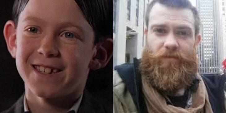chico con barba grande
