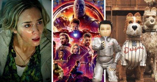 15 Películas del 2018 que ya deberías haber visto; no puedes quedarte atrás