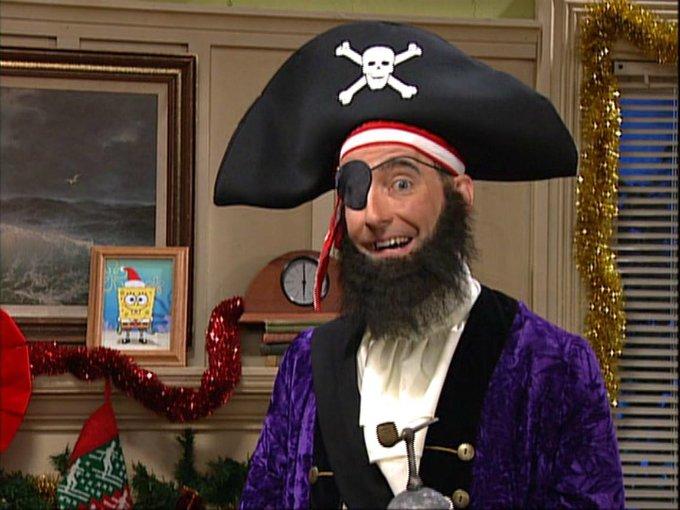 Parche el pirata de Bob Esponja