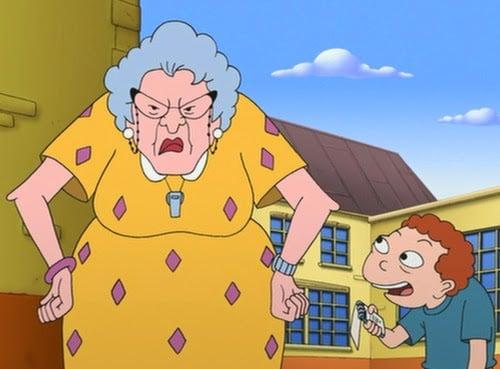 La señora Finster de Recreo