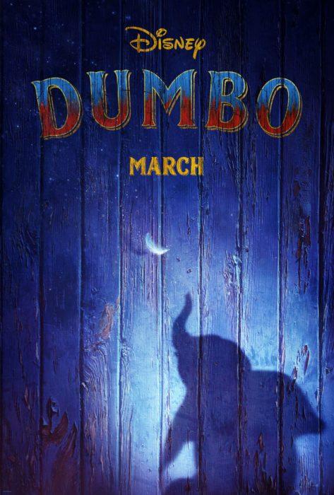 Poster oficial de la película de Dumbo