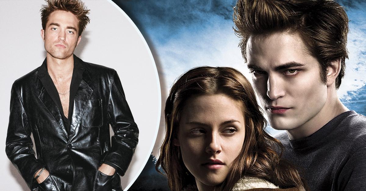 Así es como Crepúsculo cambió la vida de Robert Pattinson