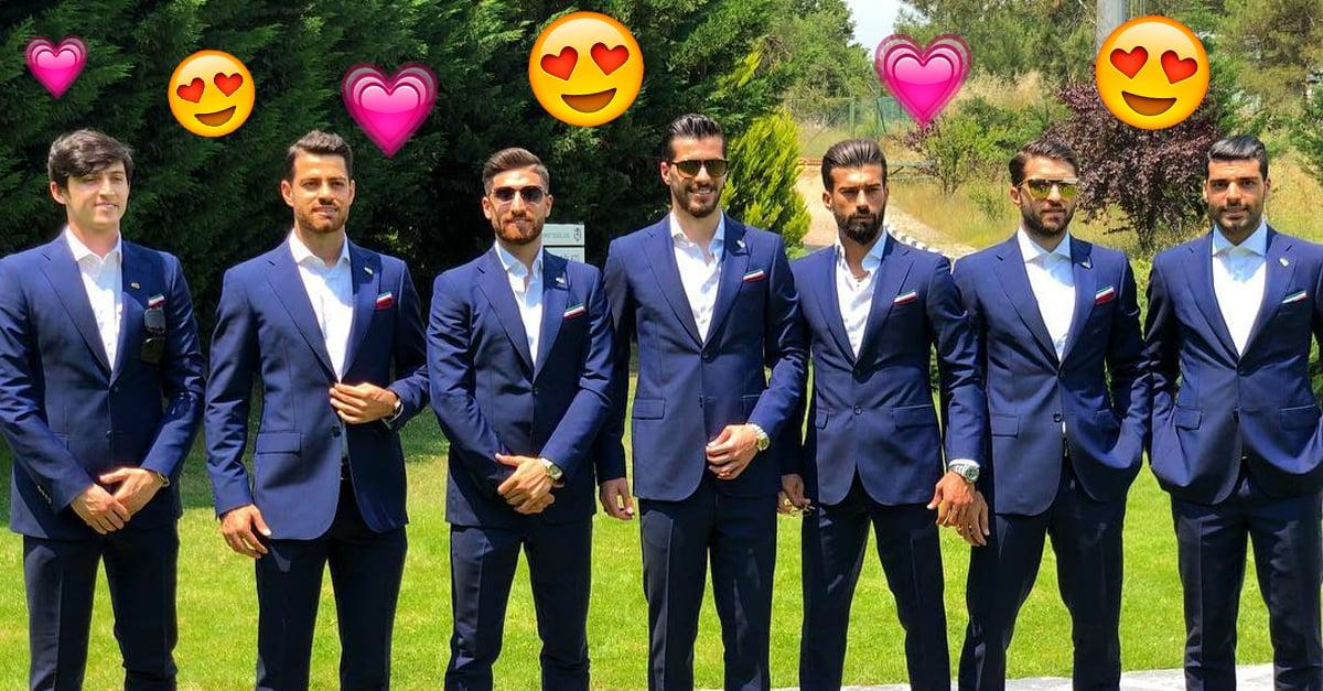 La selección de fútbol de Irán ha comenzado a anotar sus primeros goles... pero en el corazón de todas las chicas