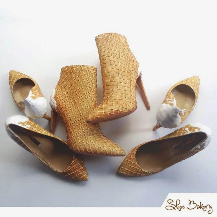 zapatos de cono