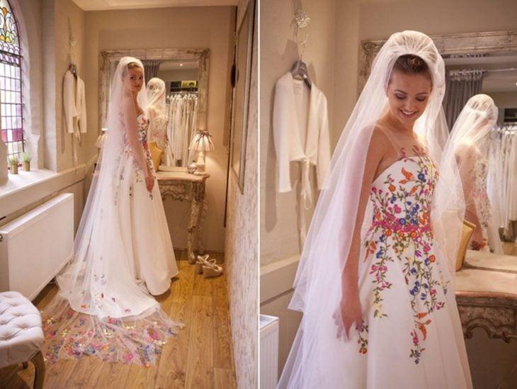a68091379a 15 Lindos vestidos de novia con un toque de folclor mexicano