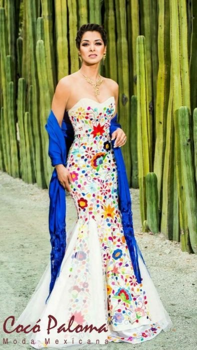 d159d47e40 15 Lindos vestidos de novia con un toque de folclor mexicano