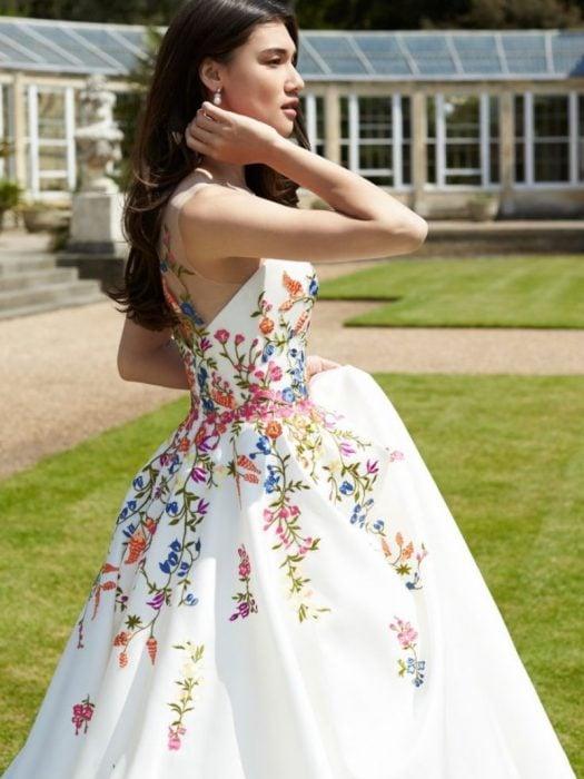 comprar oficial muy agradable moda más deseable 15 Lindos vestidos de novia con un toque de folclor mexicano