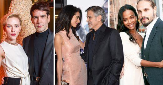 15 Actores que no se casaron con otros famosos