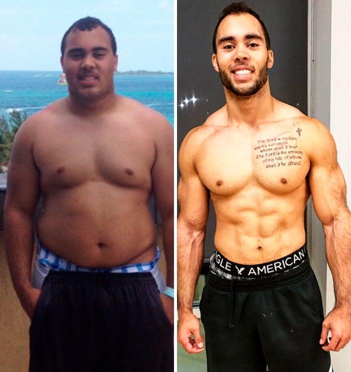blaines para bajar de peso antes y despues de bajar