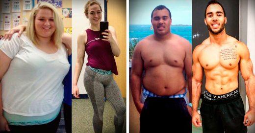 19 Increíbles transformaciones antes y después de bajar de peso
