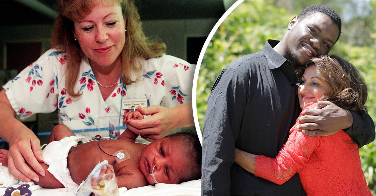 Salió a correr y descubrió a un bebé enterrado vivo; 20 años después, ambos se reencontraron