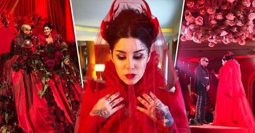 Kat Von D's Incredible Wedding Dress Is Proof Brides Don't Have to Wear White