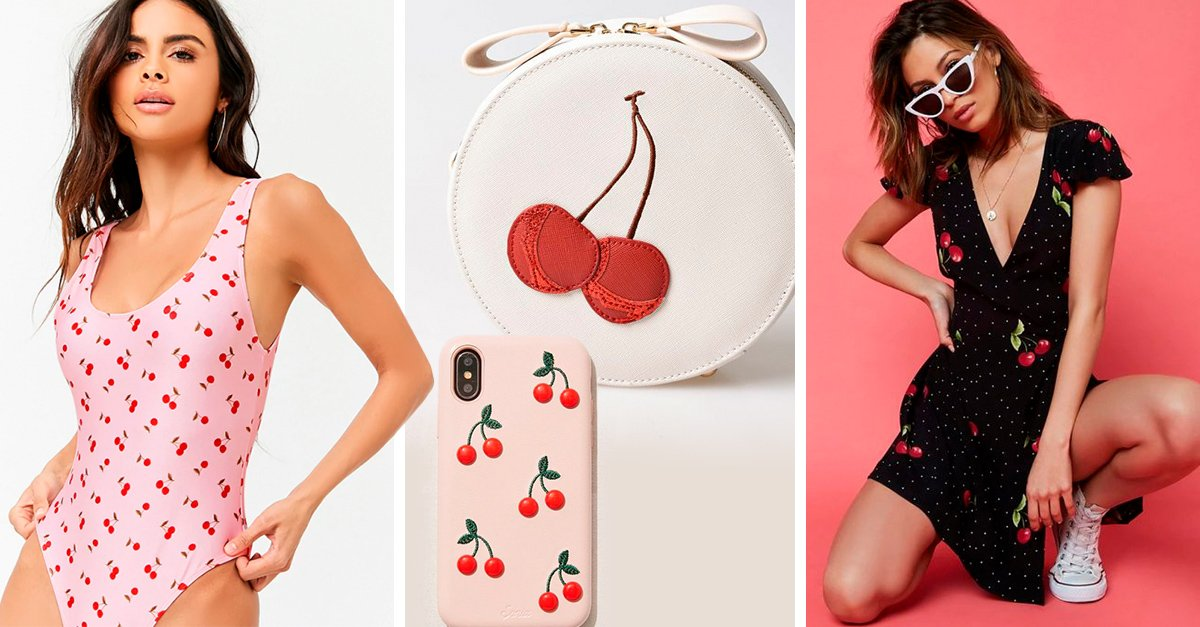 Ditch Your Florals, Because This Summer It's All About the Cherry Print