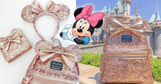 Disney Has Just Unveiled a Sparkling Sequin Rose Gold Backpack and Your Tote Bag Is Shaking