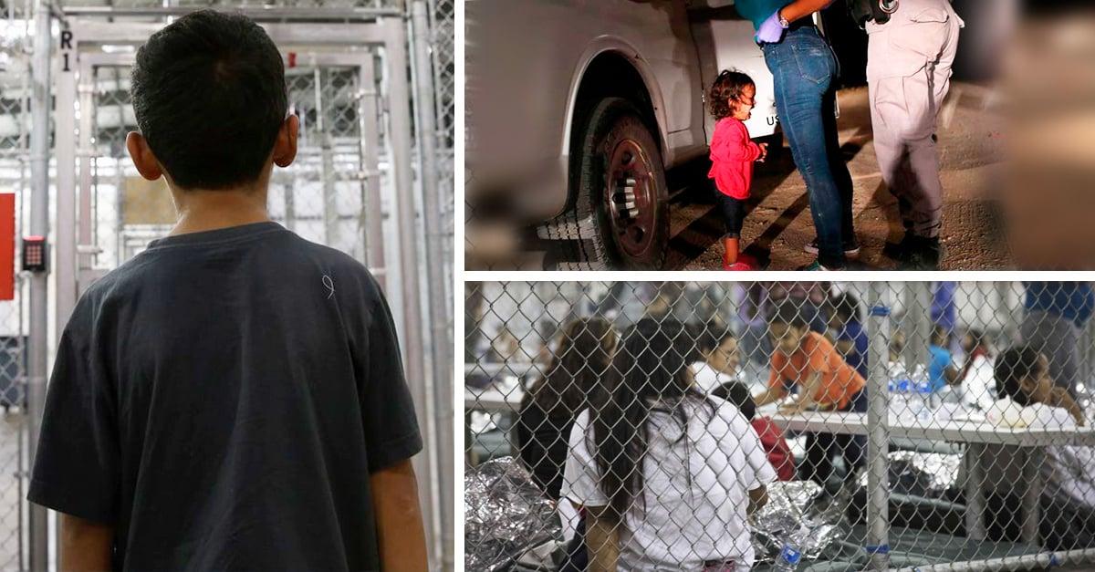 Niños inmigrantes enjaulados en Texas
