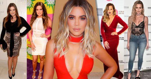 Así ha sido la evolución de estilo de Khloé Kardashian