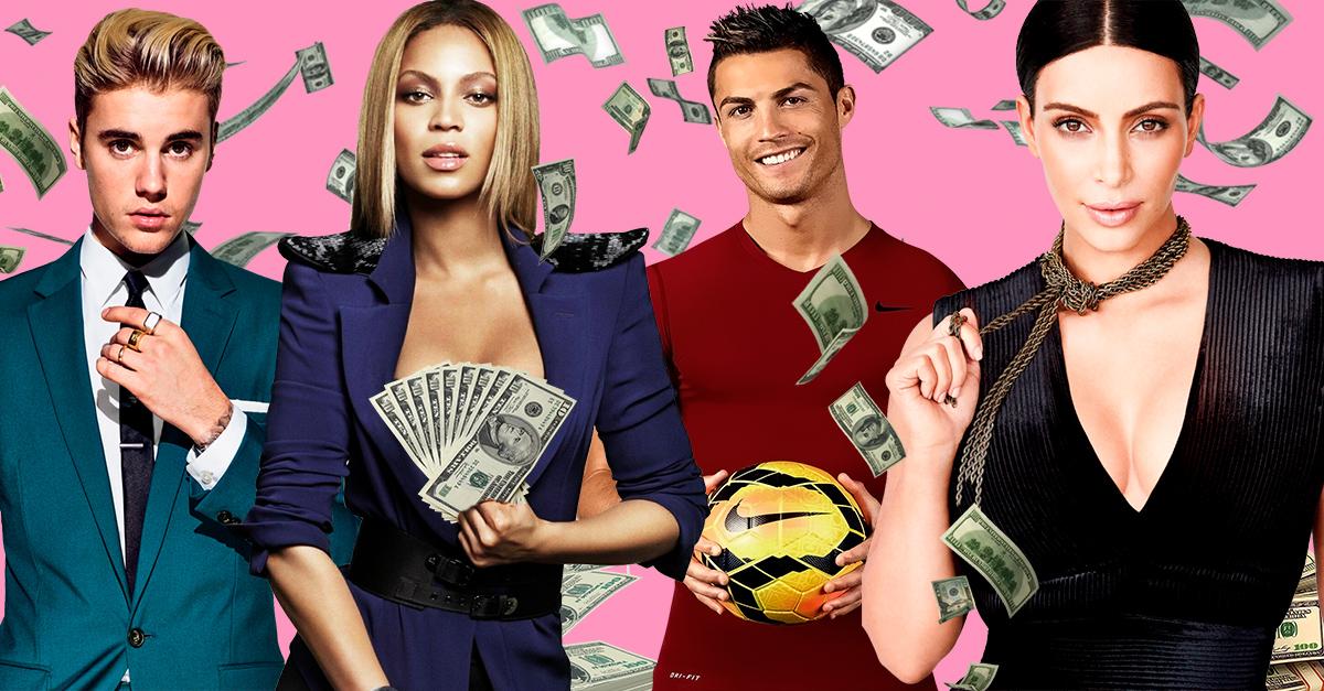 15 Celebridades con fortunas valuadas en millones de dólares