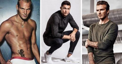 Futbolistas que se han convertido en sexis modelos