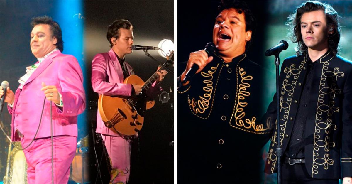 Harry Styles está copiando los outfits de Juan Gabriel y se ve increíblemente bien