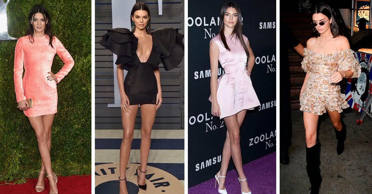 15 Veces en las que Kendall Jenner nos inspiró a usar un minivestido