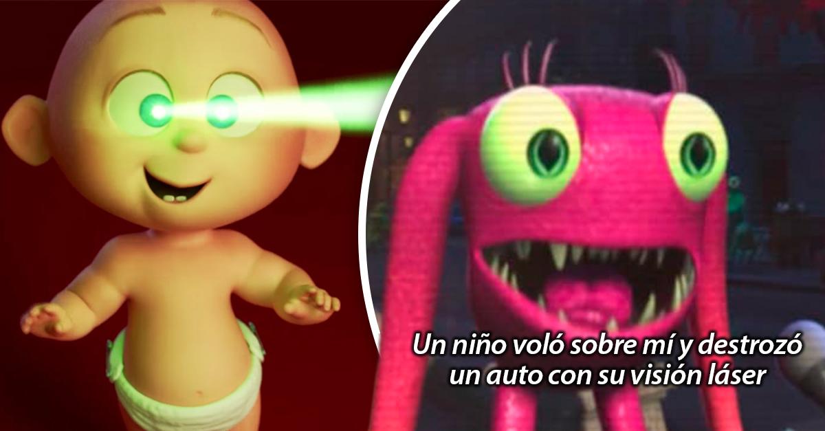 n usuario de Tumblr creó la loca teoría de que Los Increíbles 2 y Monsters Inc están conectados