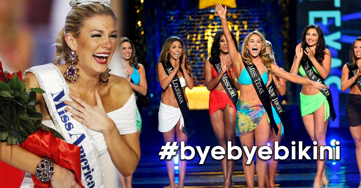 Miss América le da su lugar al pudor femenino y elimina el desfile en traje de baño