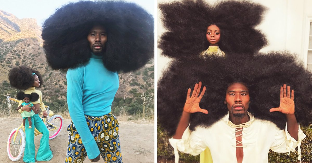 Padre e hija se apoderan de Internet con sus increíbles peinados