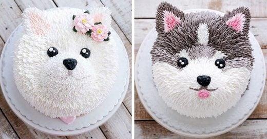 pastelitos de perritos todos bonitos
