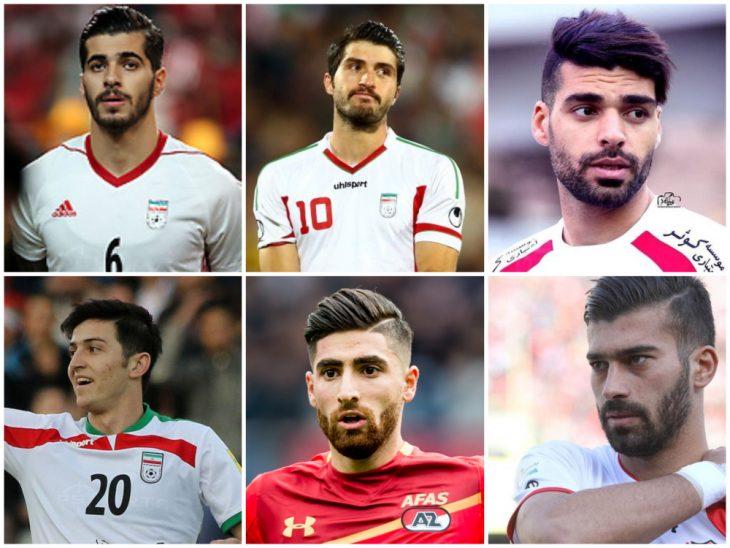 jugadores de futbol de Irán